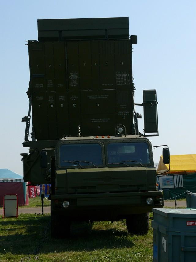Radar Gamma-S1E tại triển lãm MASK-2007.