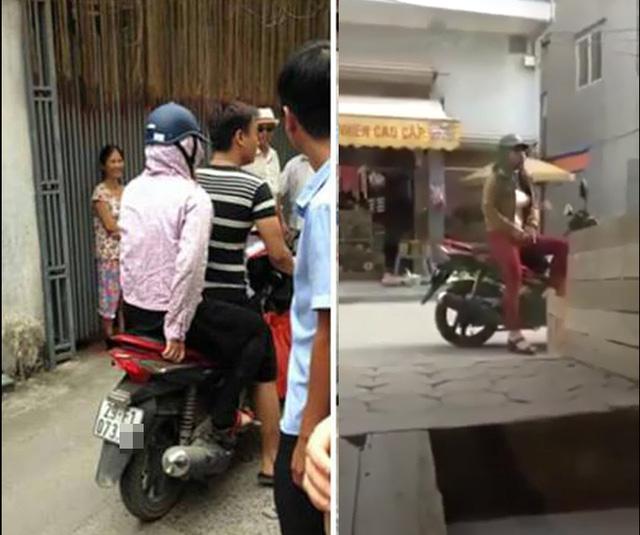 Người dân bắt quả tang nam thanh niên giả phụ nữ đang có hành vi tự sướng trong ngõ