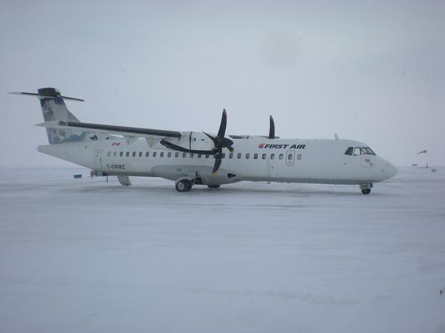 First Air thường xuyên có lộ trình bay qua các khu vực hẻo lánh như Bắc Cực. Ảnh: Wiki Media