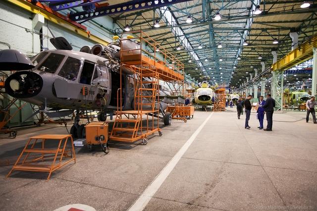 Nhà máy được thành lập vào ngày 01-09-1940, tọa lạc tại thành phố Kazan thuộc nước Cộng hòa Tatarstan. Đây cũng là một trong những nơi chế tạo trực thăng lớn nhất thế giới.