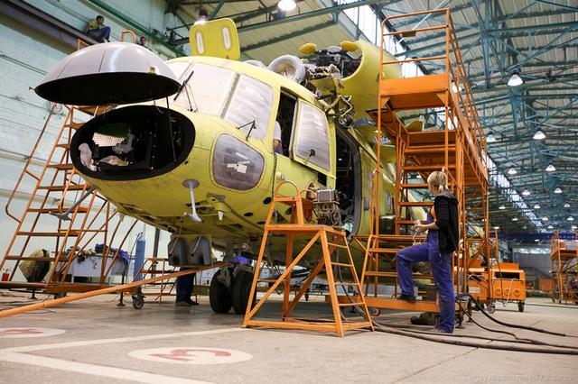 Các sản phẩm trực thăng của nhà máy đã có mặt tại hơn 100 quốc gia trên thế giới.