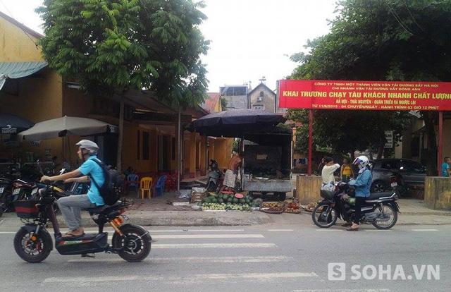 Khu vực anh Bùi Duy Khánh bị Dương Văn Việt đâm trọng thương