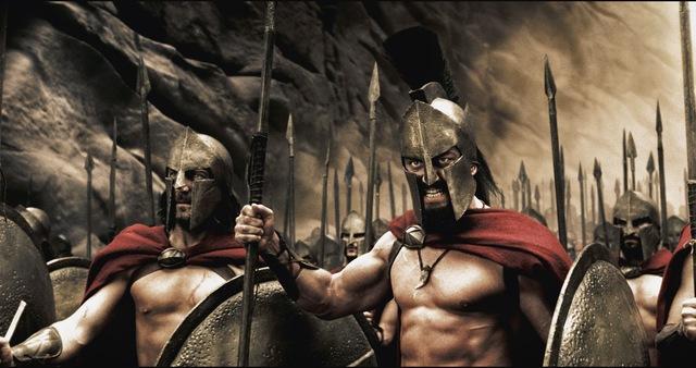 Hình ảnh chiến binh Sparta dũng mãnh trong điện ảnh