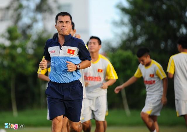 HLV Phạm Minh Đức chịu trách nhiệm dẫn dắt U21 Việt Nam thi đấu tại giải U21 quốc tế. Ảnh: Zing