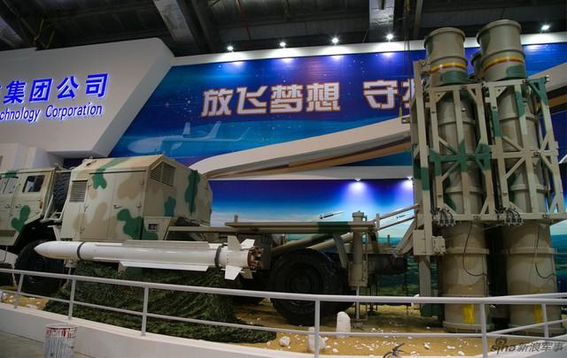 Hệ thống HQ-16 với đạn giống hệt 9M38M1 của Buk-M1chuyển giao từ Nga.