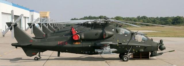 Trực thăng WZ-10 đang được Trung Quốc sản xuất với số lượng lớn.