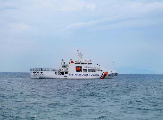 Tàu DN-2000 của Cảnh sát biển không có hanga trực thăng.