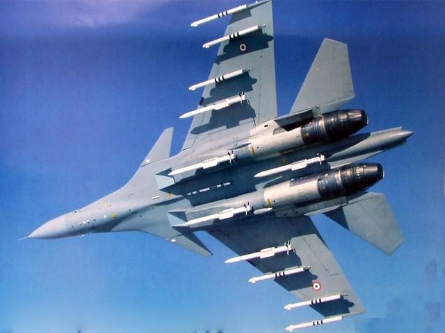 Su-30MKI của Ấn Độ.