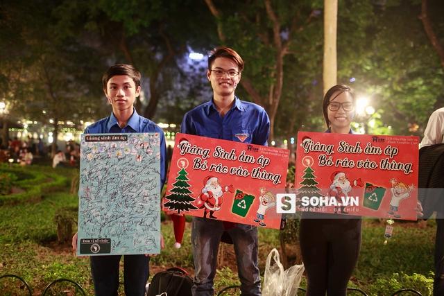 Vui chơi Giáng sinh nhưng nhớ bảo vệ môi trường nhé bạn!