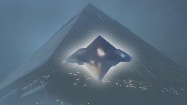Hình dáng đĩa bay hình Kim tự tháp