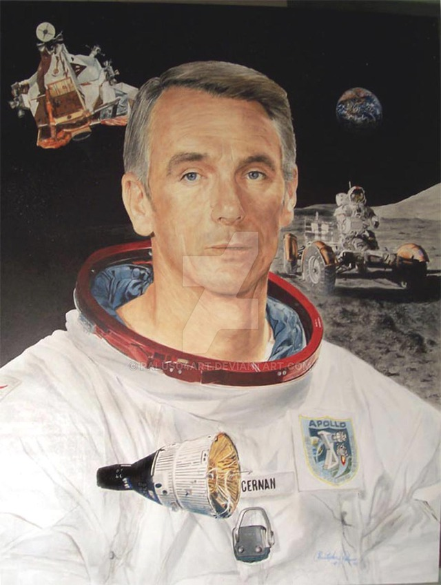 Phi hành gia Eugene Cernan
