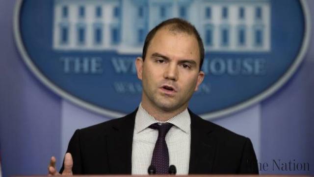 Cố vấn an ninh quốc gia của Nhà Trắng Ben Rhodes.