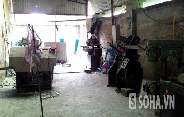 Biệt thự cho thuê làm xưởng sản xuất