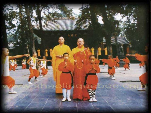 Thích Diễn Lỗ và phương trượng Thích Vĩnh Tín là những nhân vật đứng đầu Thiếu Lâm.