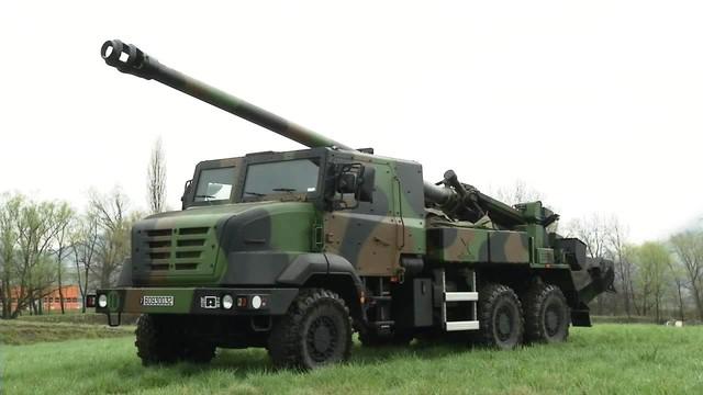 Pháo tự hành CAESAR 155 mm