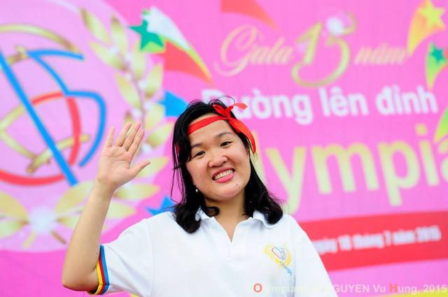 Minh Châu trong cuộc gặp mặt thí sinh Đường lên đỉnh Olympia