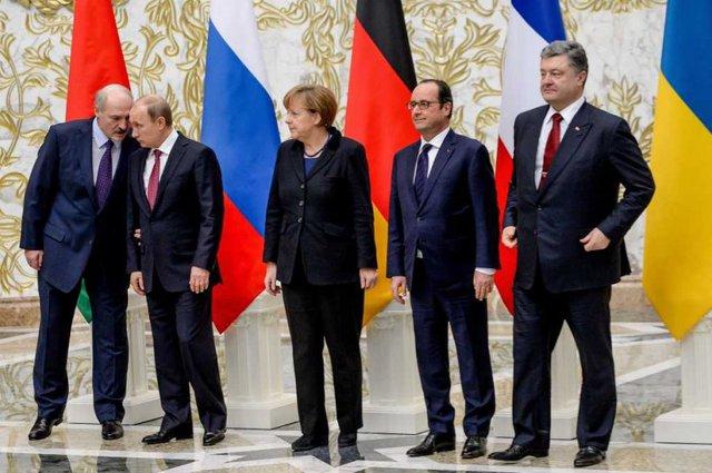 Hiệp ước Minsk 3.0 sẽ được kí kết tại Paris? Ảnh: Reuters.