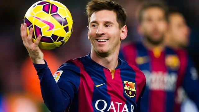 Lionel Messi là niềm khao khát của hot girl Nancy Navarro.