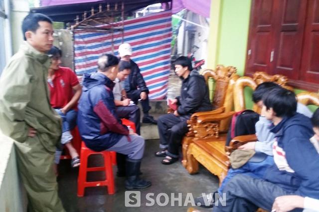 Ở quê nhà nạn nhân Lâm Hữu Chinh (Diễn Thành, Diễn Châu, Nghệ An)