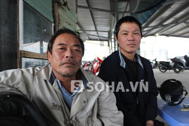 Ông Dương Văn Tờn và anh Nguyễn Thanh Long đều mong muốn những điều tốt đẹp, an lành sẽ đến với ông Thanh.