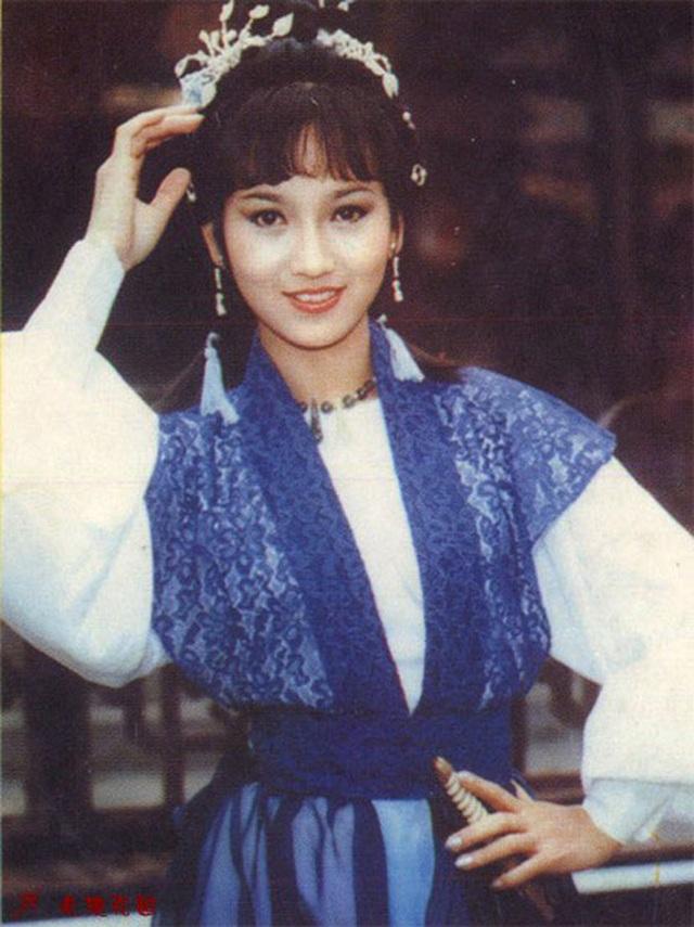 Tạo hình Chu Chỉ Nhược trong Ỷ Thiên Đồ Long Ký 1979.