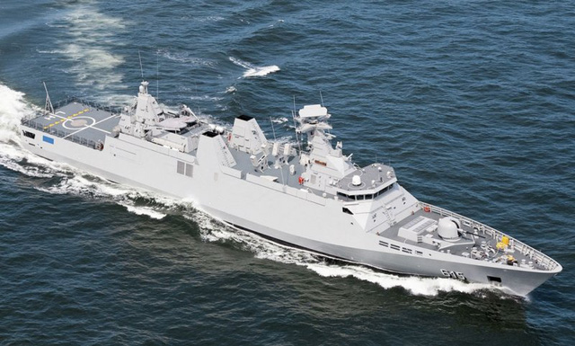 Tàu hộ vệ tên lửa SIGMA 9813