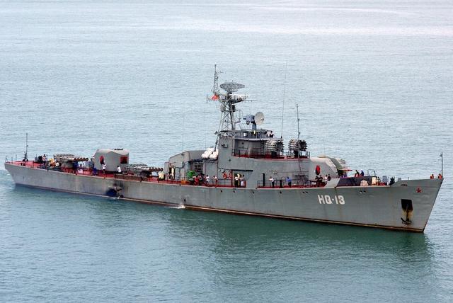 Tàu hộ vệ săn ngầm Petya của Việt Nam hiện đã quá cũ