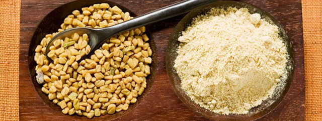 Hạt và bột methi Ấn Độ
