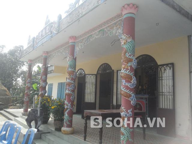 Ngôi nhà cũ nơi gia đình ông Nguyễn Bá Thanh sinh sống trước đây nay đã trở thành nhà thờ của chi họ.