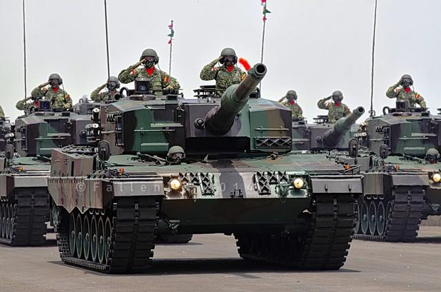 Xe tăng Leopard 2A4 của Indonesia