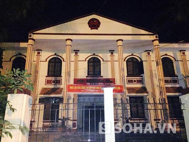TAND thị xã Từ Sơn (ảnh: Độc giả cung cấp)