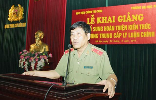 Thiếu tướng Trương Giang Long.