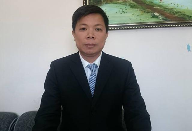 Luật sư Lê Văn Thiệp.