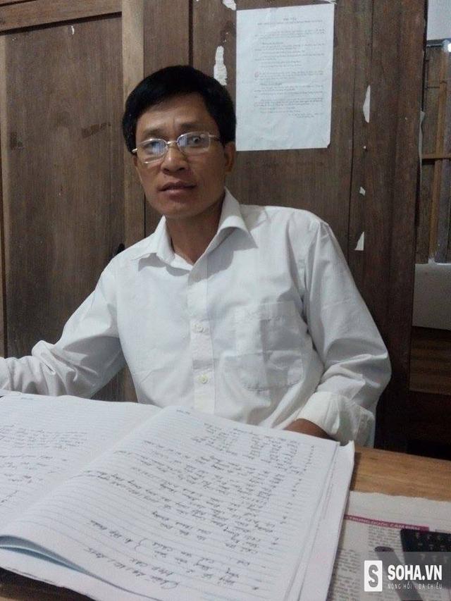 Ông Ma Văn Dèn - Trưởng công an xã Trung Hà