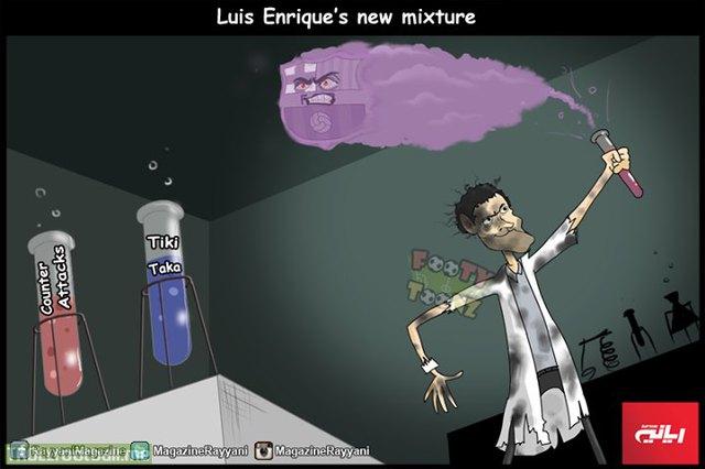 Công thức mới của Luis Enrique
