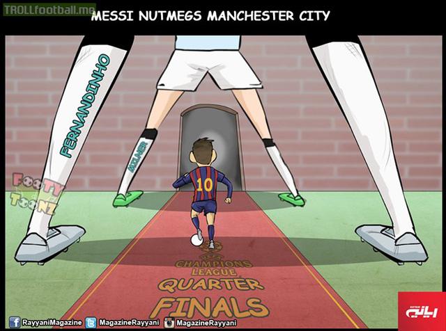 Messi luôn tìm được đường tốt nhất.