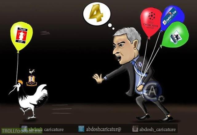 4 cúp mất 1, còn mất thêm gì không Mourinho?
