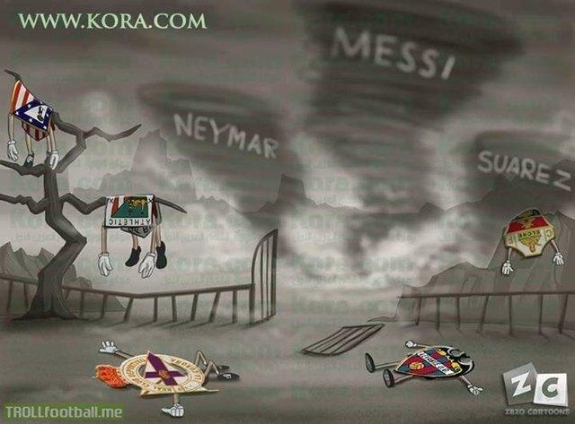 Cơn cuồng phong Barca
