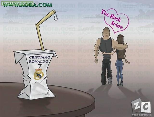 Ronaldo đúng là chàng trai tội nghiệp