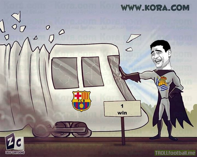 Barca đã bị chặn lại ngay đầu năm mới