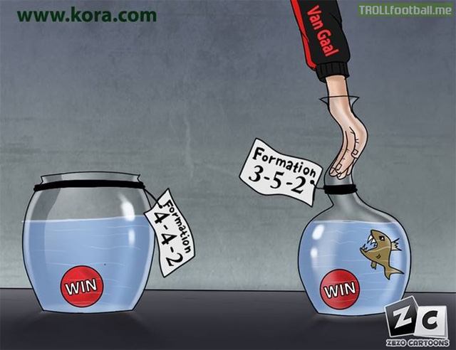 Van Gaal và trò chơi 3-5-2 nguy hiểm