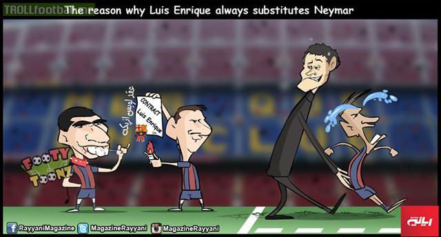 Neymar bị phân biệt đối xử ở Barca