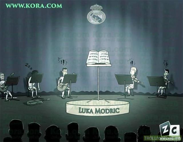 Thiếu Modric, Real Madrid chẳng còn nhạc trưởng