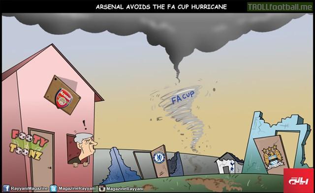 Các ông lớn sau cơn bão FA Cup