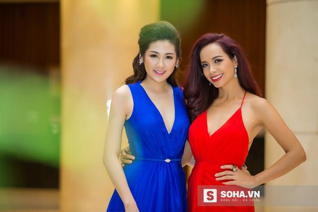 Cô và người mẫu Thúy Hạnh cùng là khách mời trong sự kiện Miss Beauty & Go Việt Nam.