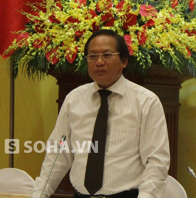 Thứ trưởng Trương Minh Tuấn.