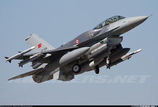 Tiêm kích F-16D Block 50 Plus của Không quân Thổ Nhĩ Kỳ