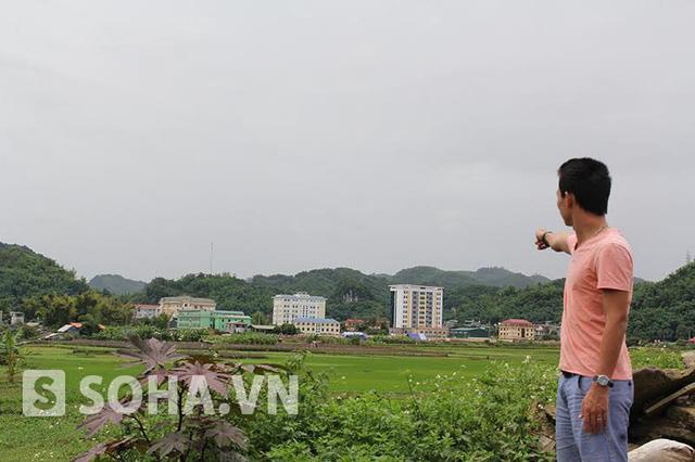 Khu đất nằm trong kế hoạch xây khu tượng đài 1.400 tỷ đồng ở Sơn La. Ảnh: Long Nguyễn