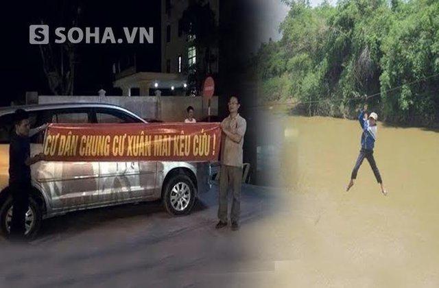 Người dân kêu cứu ở chung cư tại Hà Nội