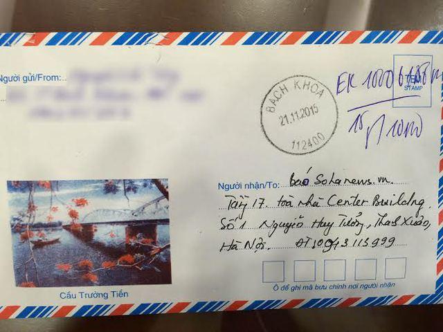 Lá thư của độc giả gửi đến